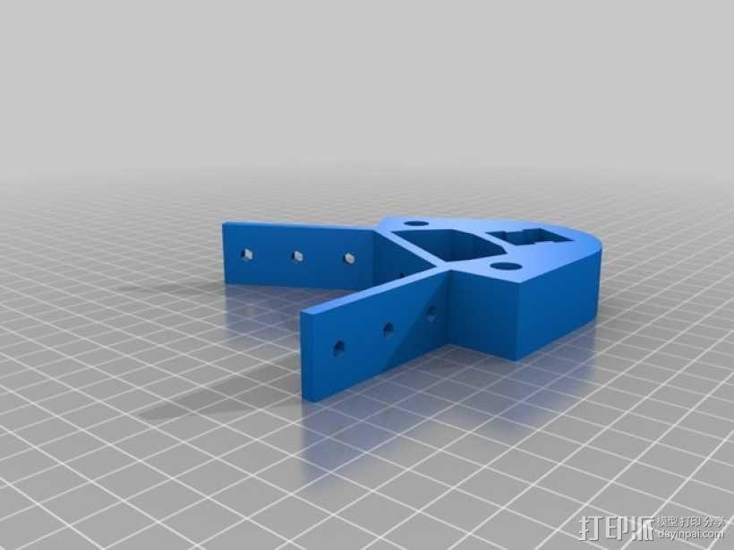 Kossel 打印机 3D模型  图42