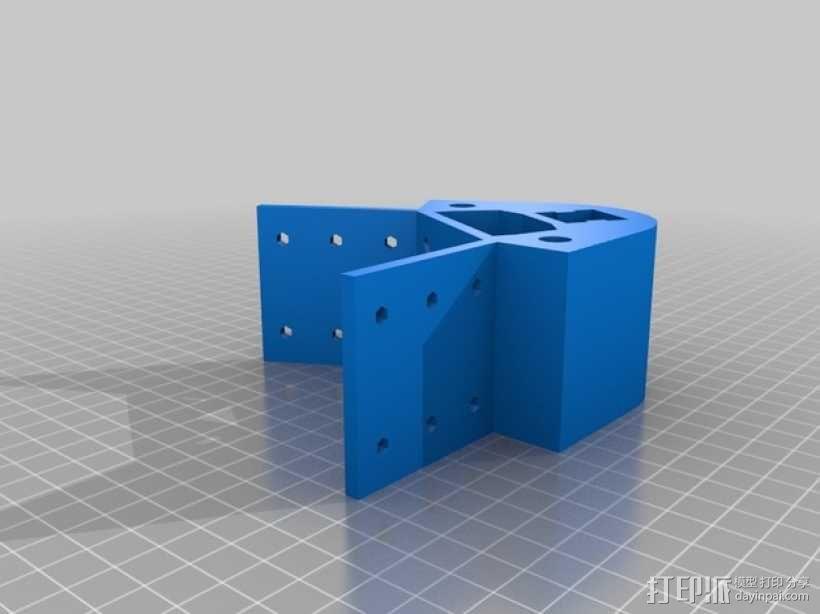 Kossel 打印机 3D模型  图43