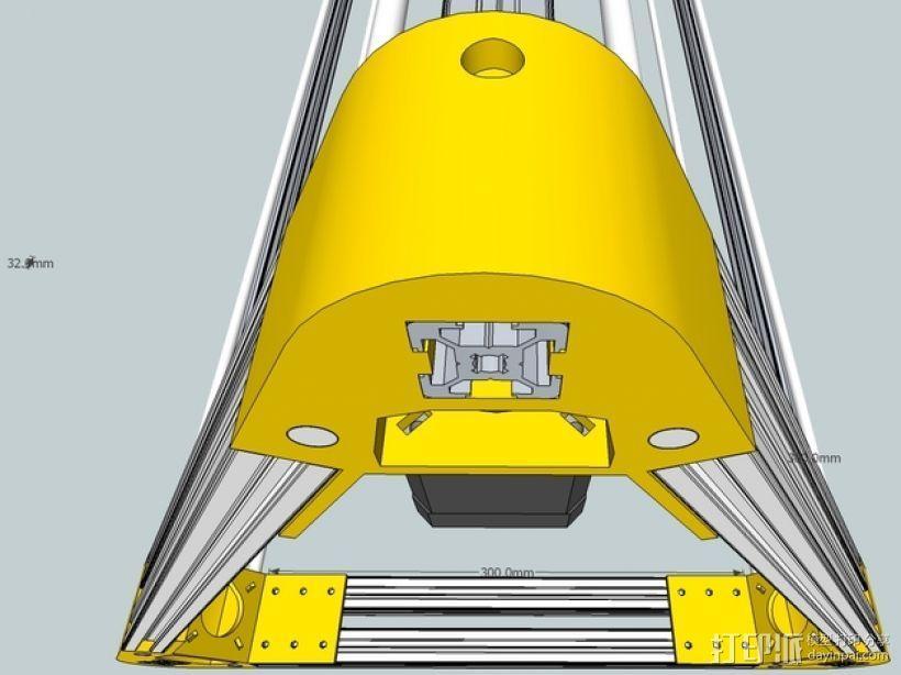 Kossel 打印机 3D模型  图45