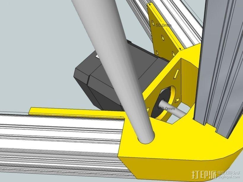 Kossel 打印机 3D模型  图44