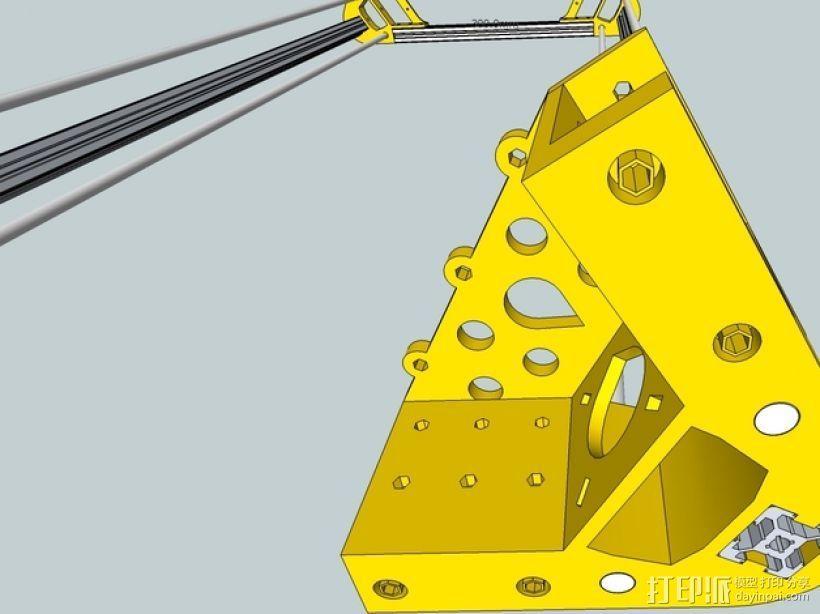 Kossel 打印机 3D模型  图50