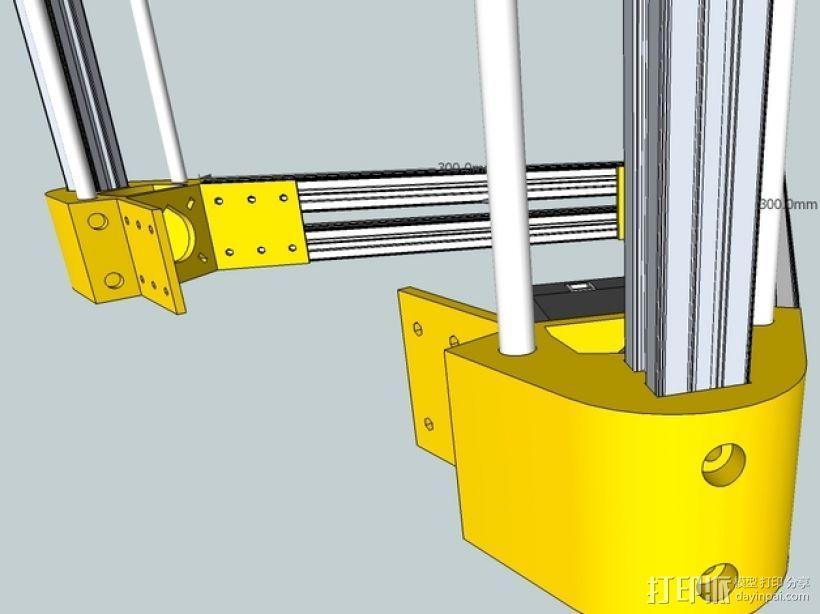Kossel 打印机 3D模型  图49