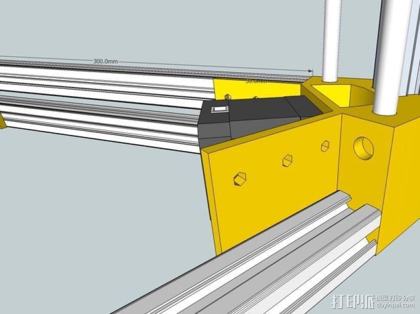 Kossel 打印机 3D模型  图48