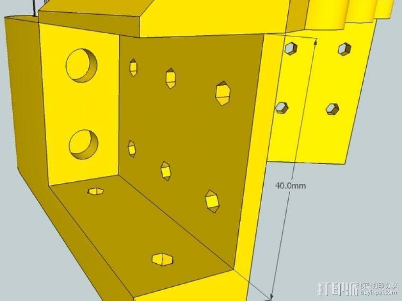 Kossel 打印机 3D模型  图51