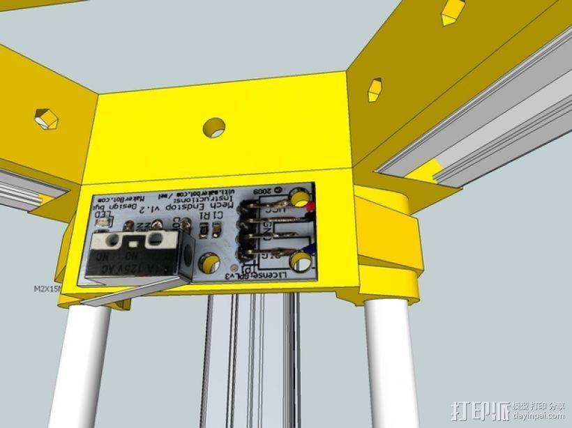 Kossel 打印机 3D模型  图52