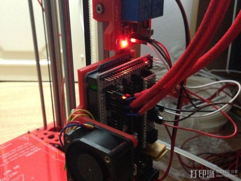 Kossel 打印机 3D模型  图55