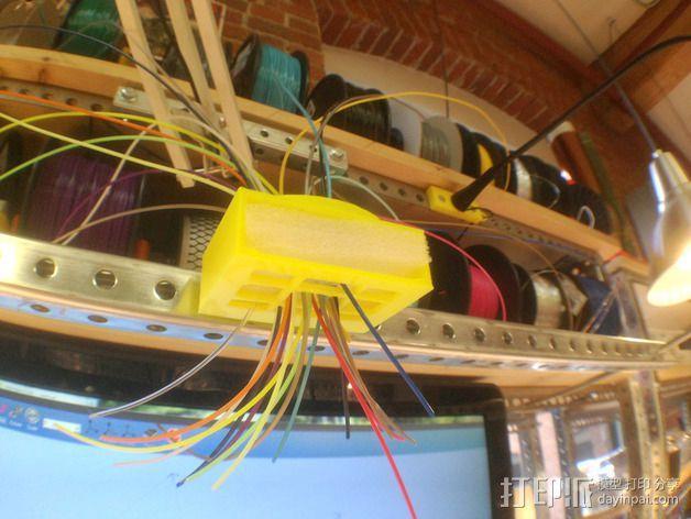线材架 线材收纳器 3D模型  图3