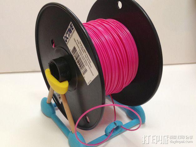 线材架 线材收纳器 3D模型  图7