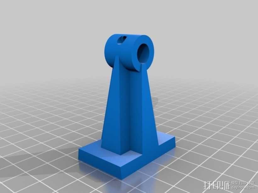 Robo3d打印机Z轴固定器 3D模型  图1