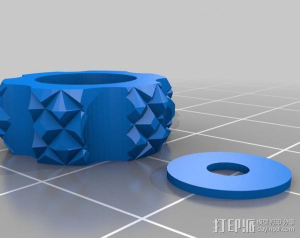 旋钮 3D模型  图2