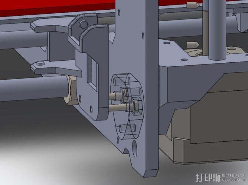 挤出机风扇 3D模型  图6