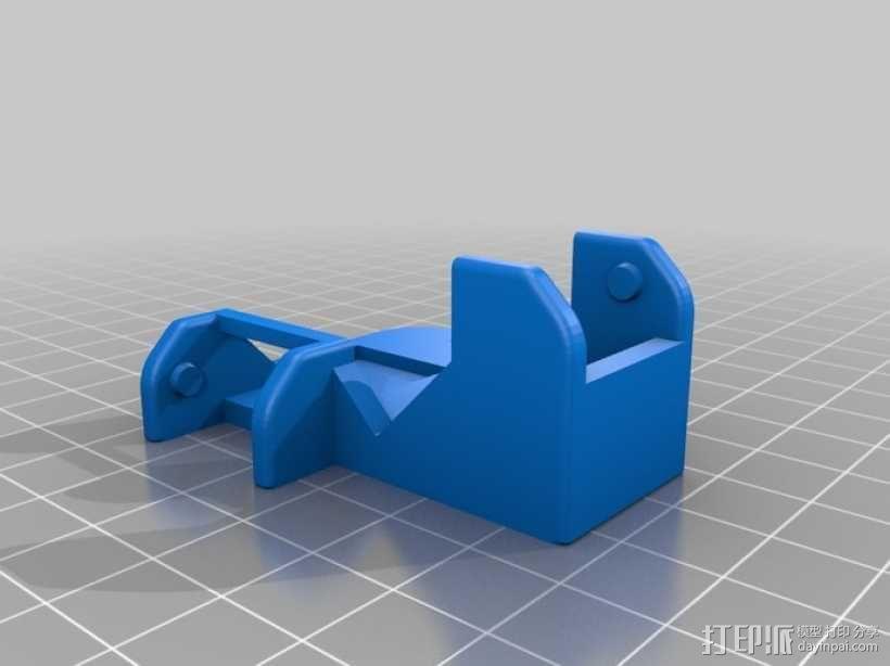 挤出机风扇 3D模型  图9