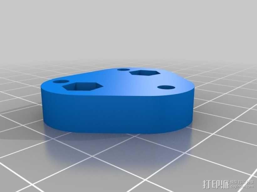 挤出机风扇 3D模型  图8