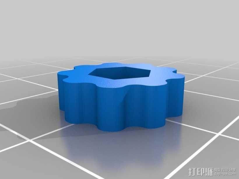 挤出机风扇 3D模型  图11