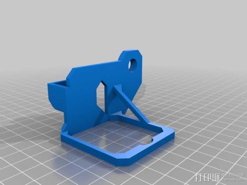 挤出机风扇 3D模型  图14