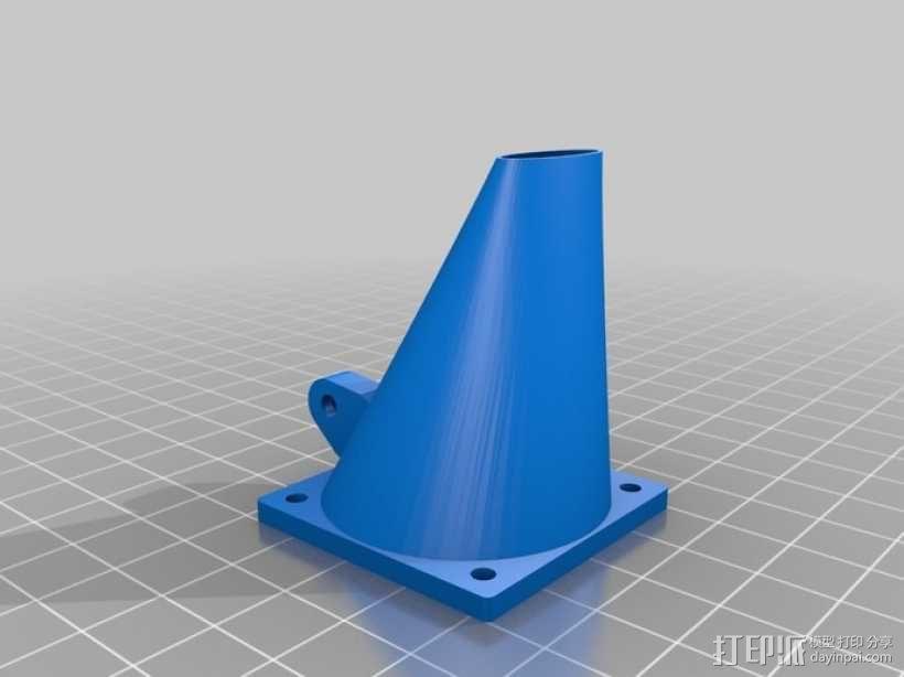 挤出机风扇 3D模型  图16
