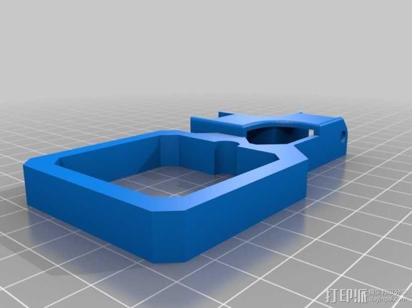 挤出机风扇 3D模型  图17