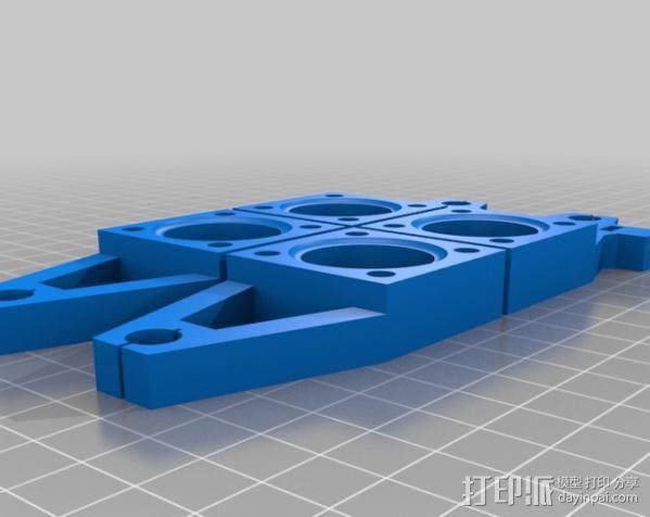 UConduit H-Bot 3D打印机 3D模型  图16