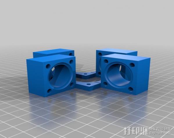 UConduit H-Bot 3D打印机 3D模型  图21