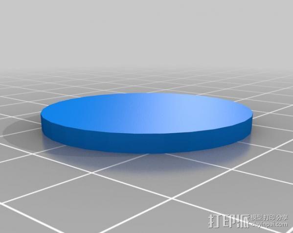 填充率磁盘 3D模型  图3