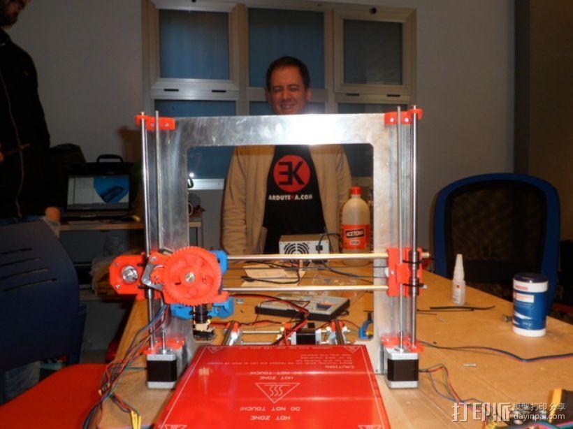 挤出机支撑架 3D模型  图5
