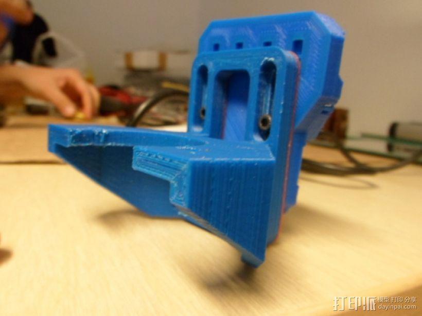 挤出机支撑架 3D模型  图6