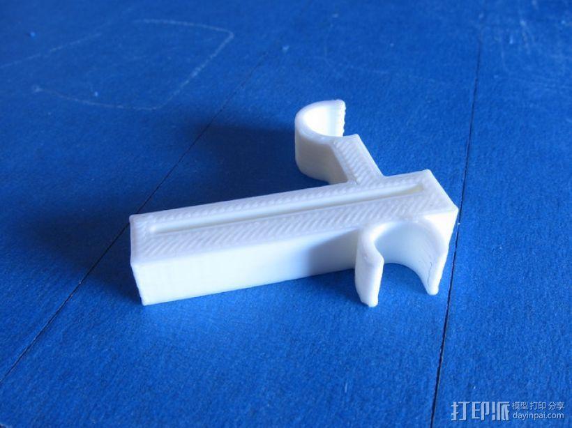 Prusa i3打印机Y轴限位开关 3D模型  图2