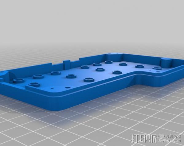 智能控制器保护盒 3D模型  图4