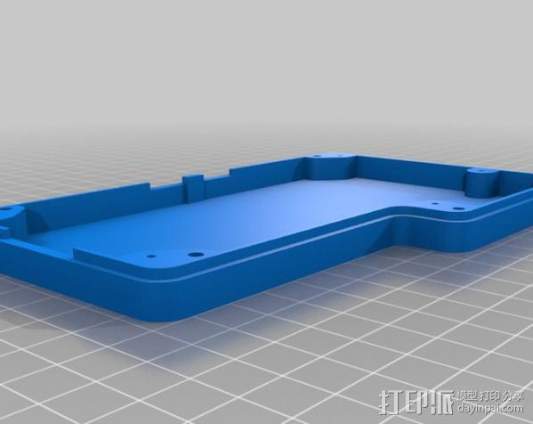 智能控制器保护盒 3D模型  图5