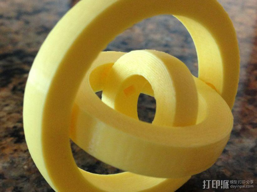 平衡环 3D模型  图1