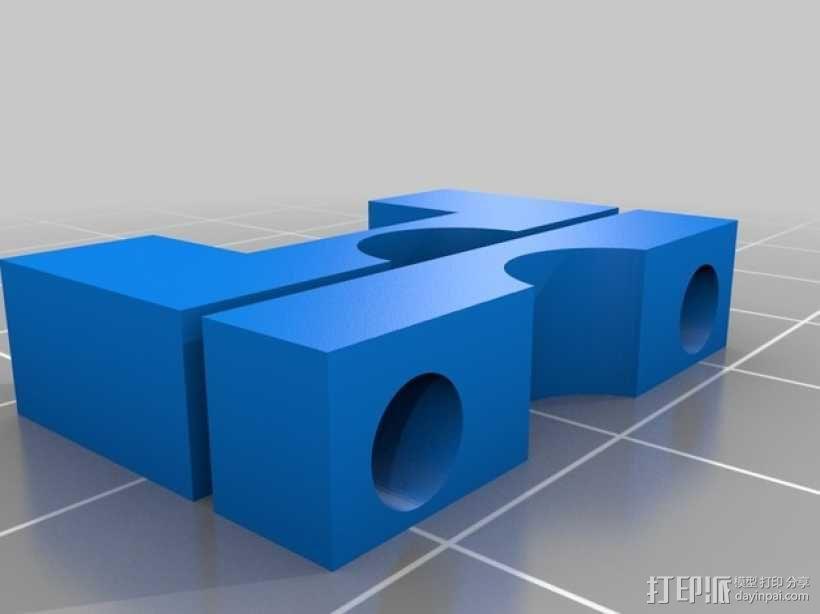 Prusa Mendel打印机 3D模型  图2