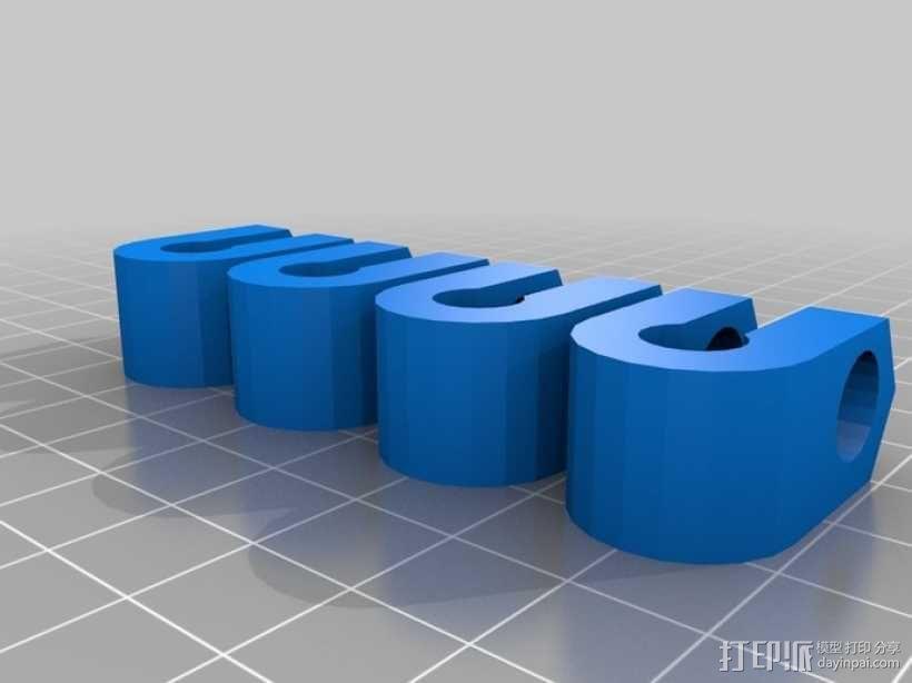 Prusa Mendel打印机 3D模型  图6