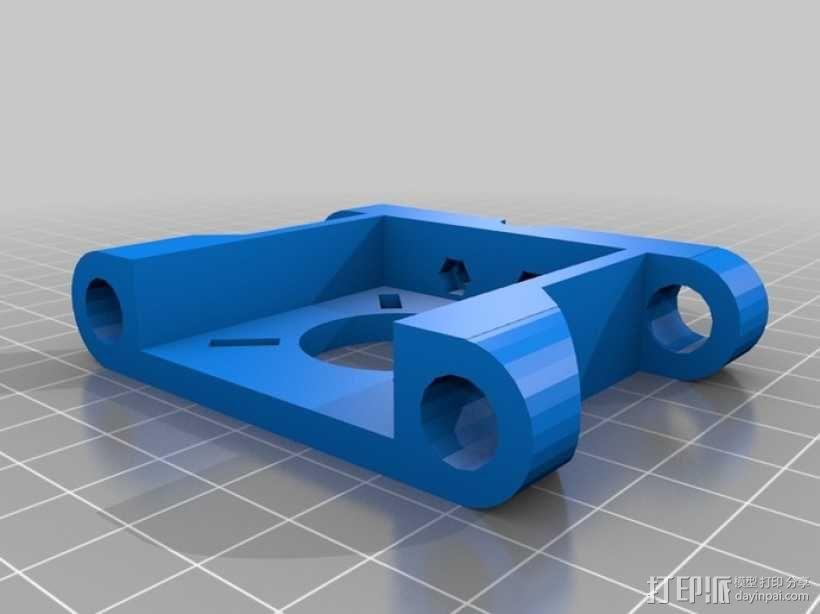 Prusa Mendel打印机 3D模型  图5
