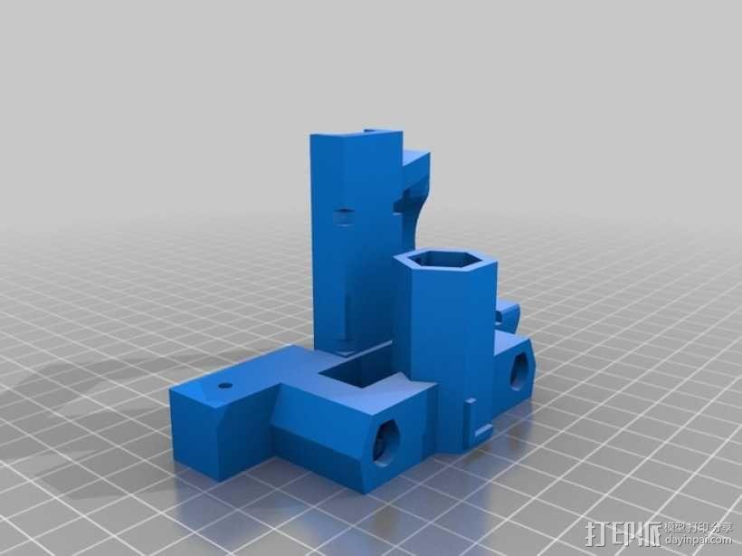 Prusa Mendel打印机 3D模型  图7