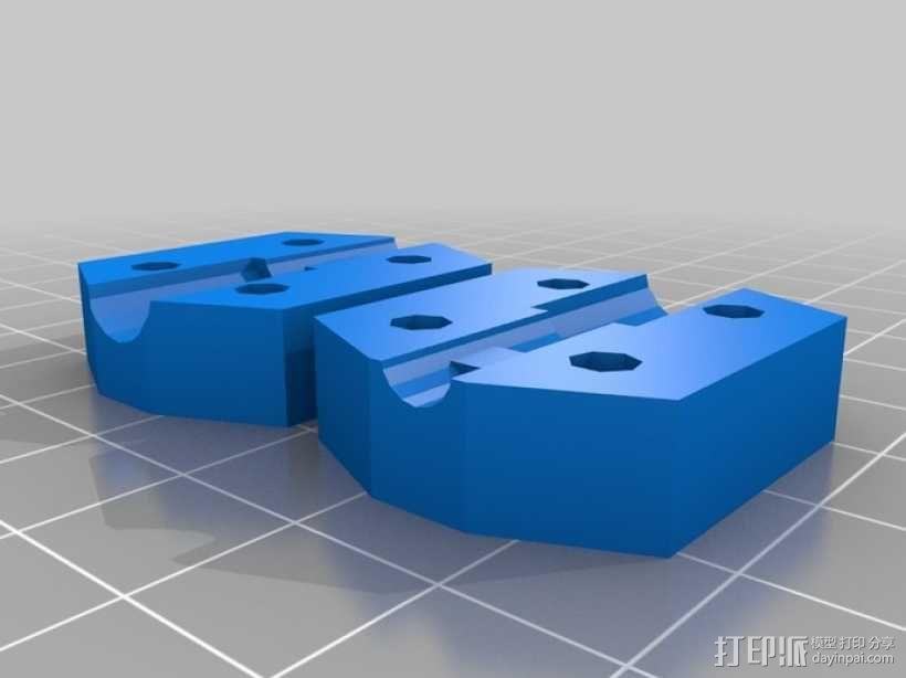 Prusa Mendel打印机 3D模型  图9