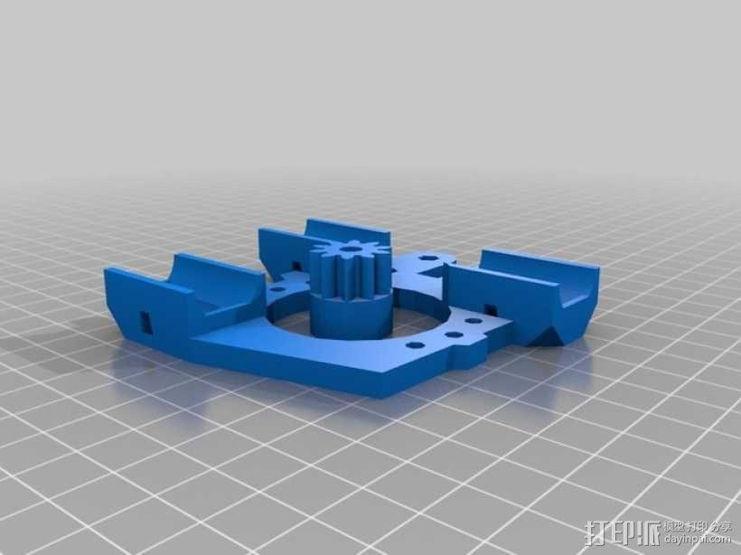 Prusa Mendel打印机 3D模型  图16