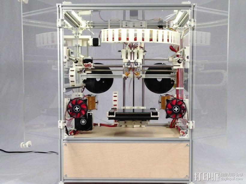 RepRap工业级3D打印机 3D模型  图2