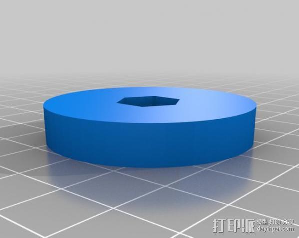 Printrbot 打印机喷嘴 3D模型  图4