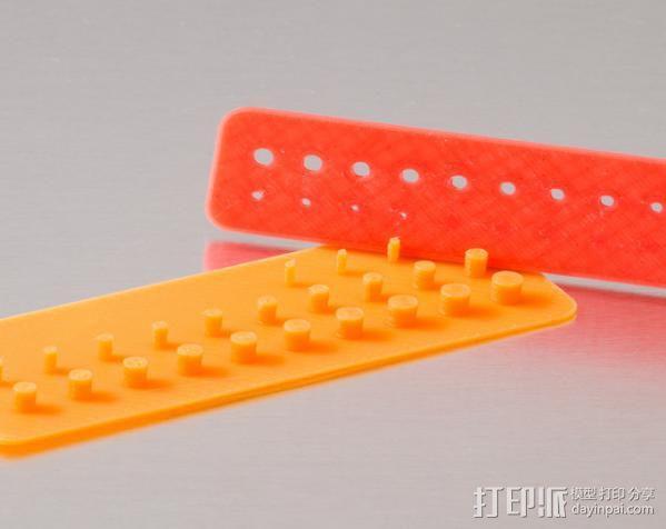 小孔打印测试 3D模型  图1