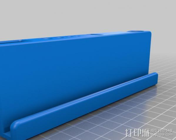 Replicator 2打印机工具架 3D模型  图2