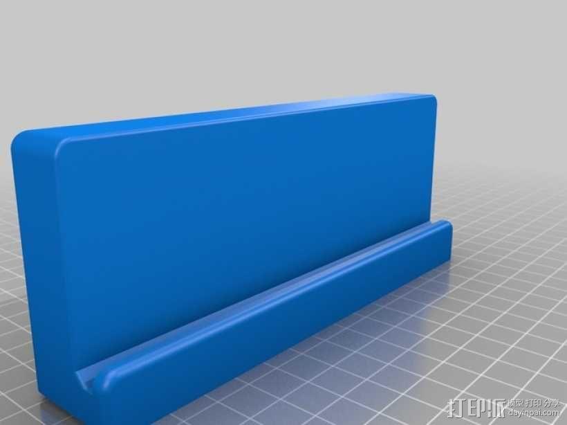 Replicator 2打印机工具架 3D模型  图3