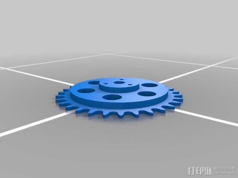 LYMAN材料挤出机 3D模型  图6