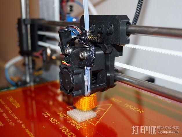 Prusa i3 直线驱动挤出机 3D模型  图1