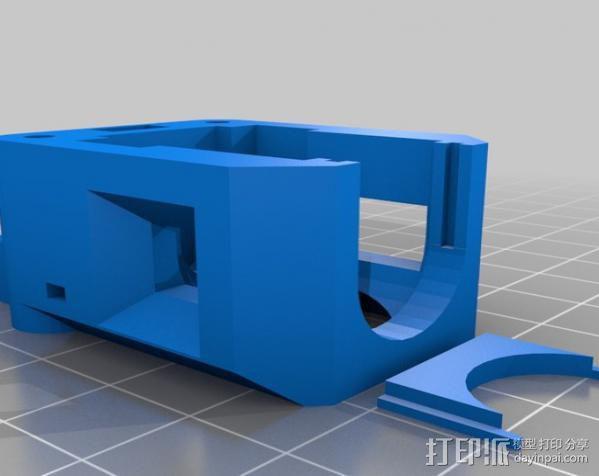 Prusa i3 直线驱动挤出机 3D模型  图5