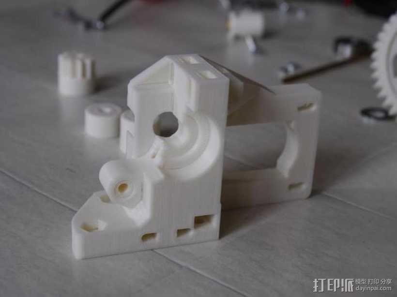 通用式挤出机 3D模型  图8