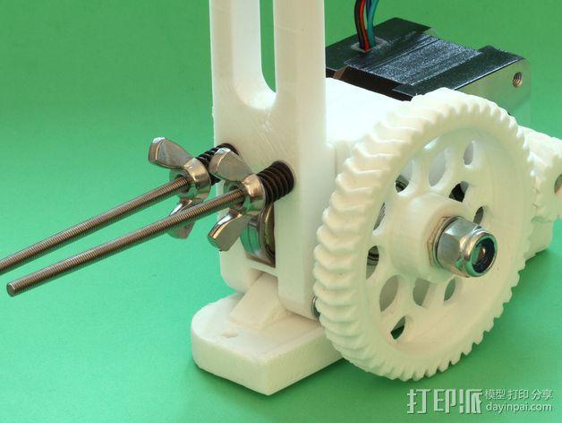 RepRapPro打印机 挤出机 3D模型  图6