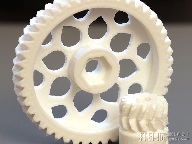 RepRapPro打印机 挤出机 3D模型  图16