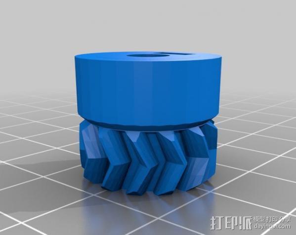 RepRapPro打印机 挤出机 3D模型  图21
