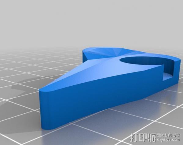 打印机X轴 挤出机 3D模型  图6