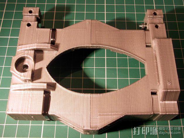 打印机X轴 挤出机 3D模型  图7
